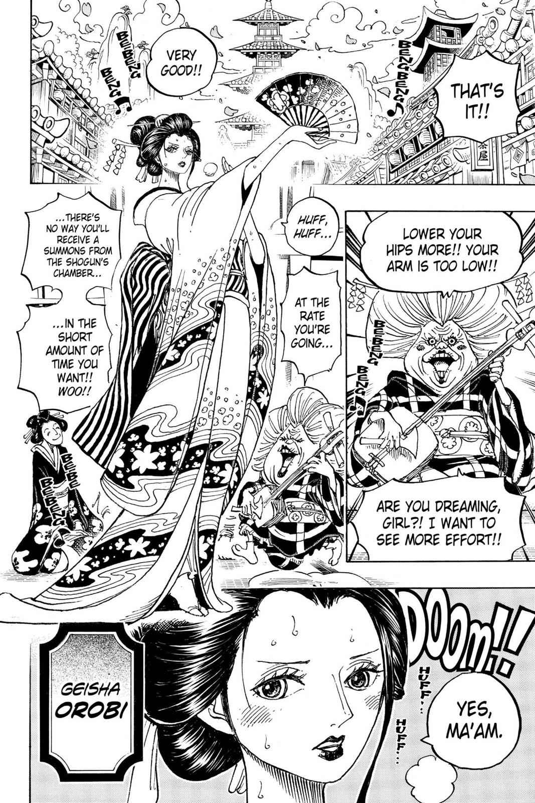 One Piece Chapter 909 Page 11