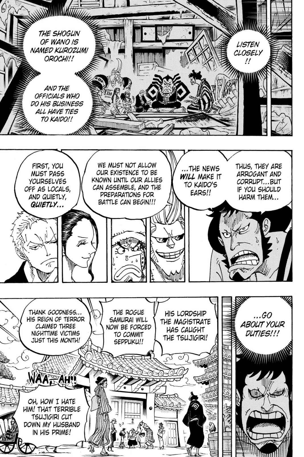 One Piece Chapter 909 Page 12
