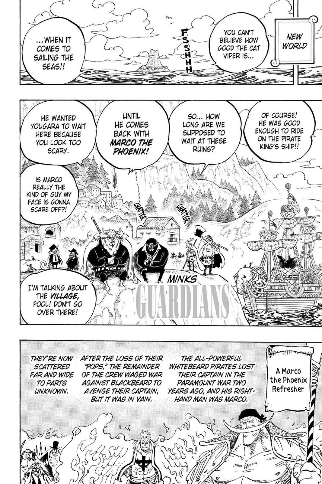 One Piece Chapter 909 Page 2