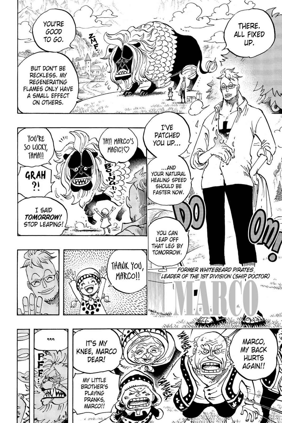 One Piece Chapter 909 Page 4