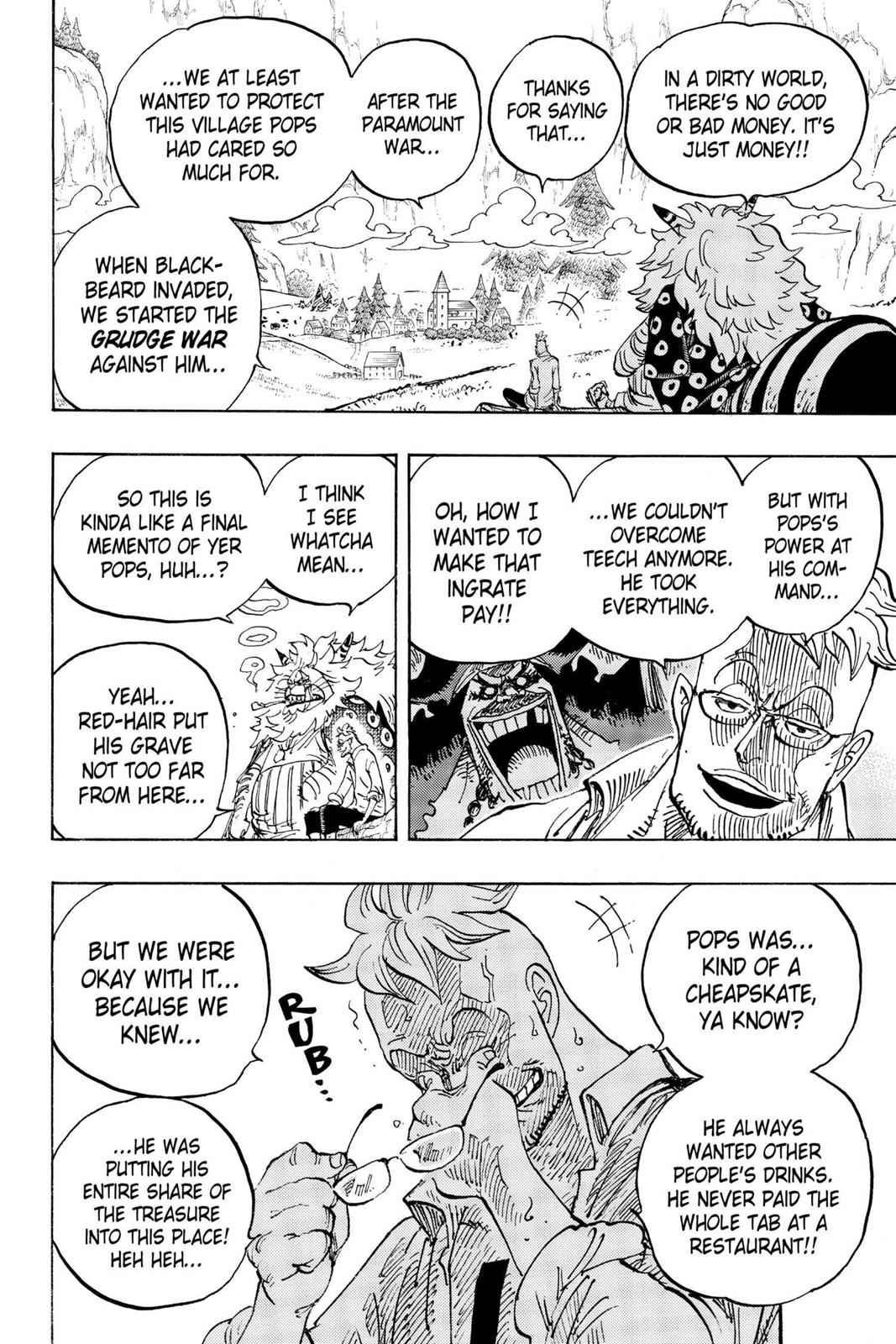 One Piece Chapter 909 Page 6