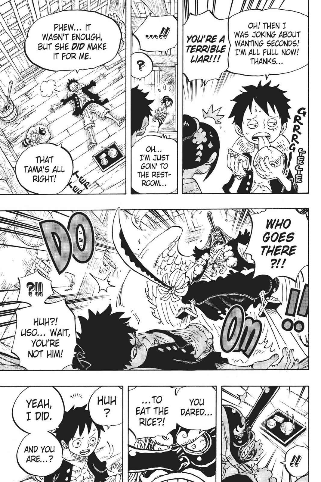One Piece Chapter 911 Page 22