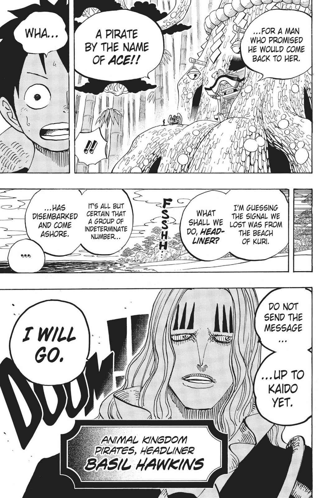 One Piece Chapter 911 Page 25