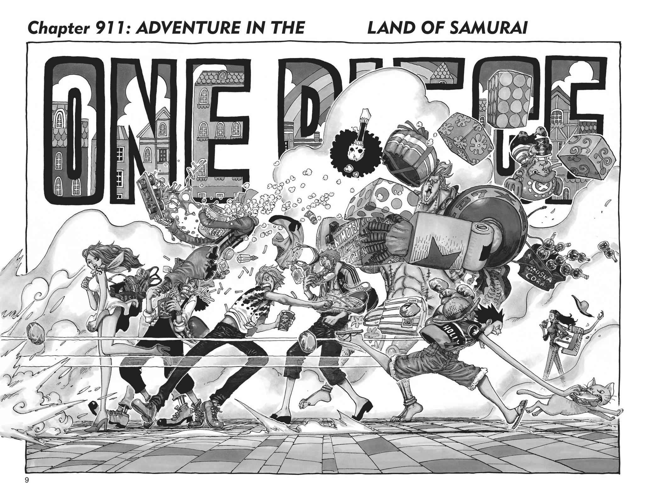 One Piece Chapter 911 Page 8