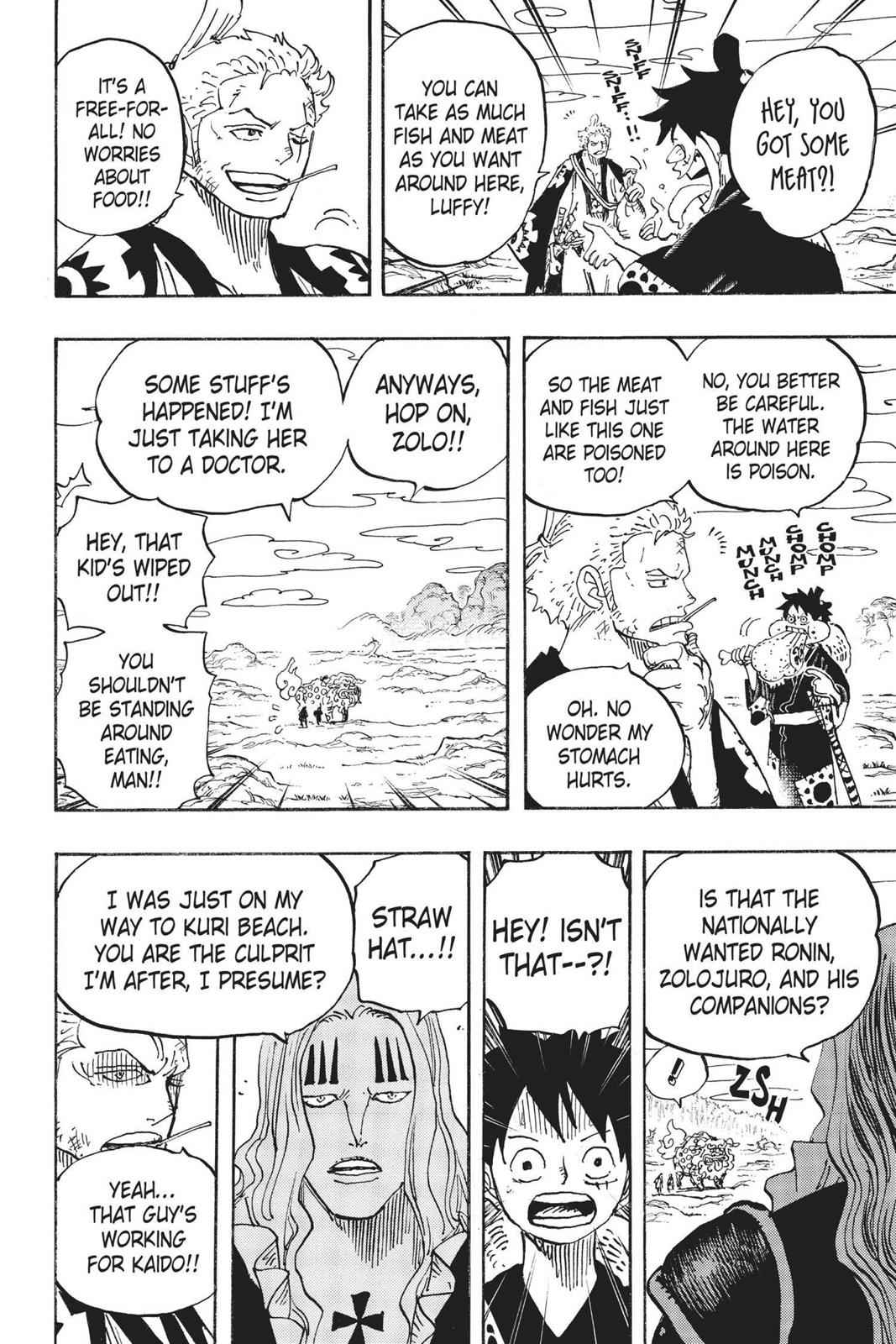 One Piece Chapter 912 Page 18