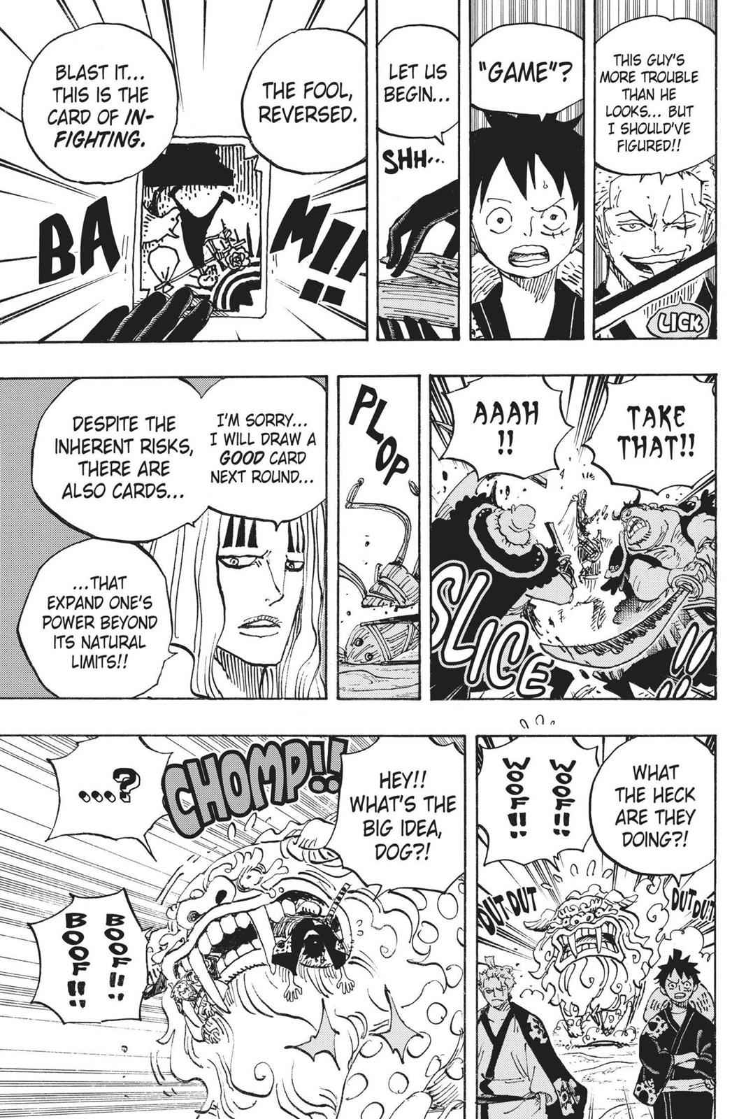 One Piece Chapter 913 Page 8