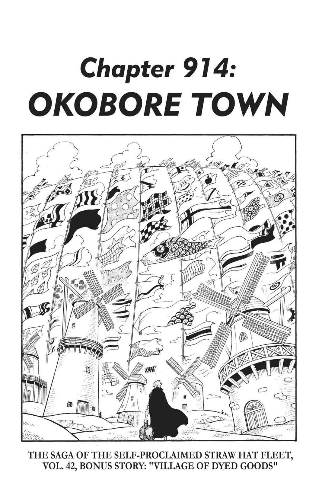 One Piece Chapter 914 Page 1