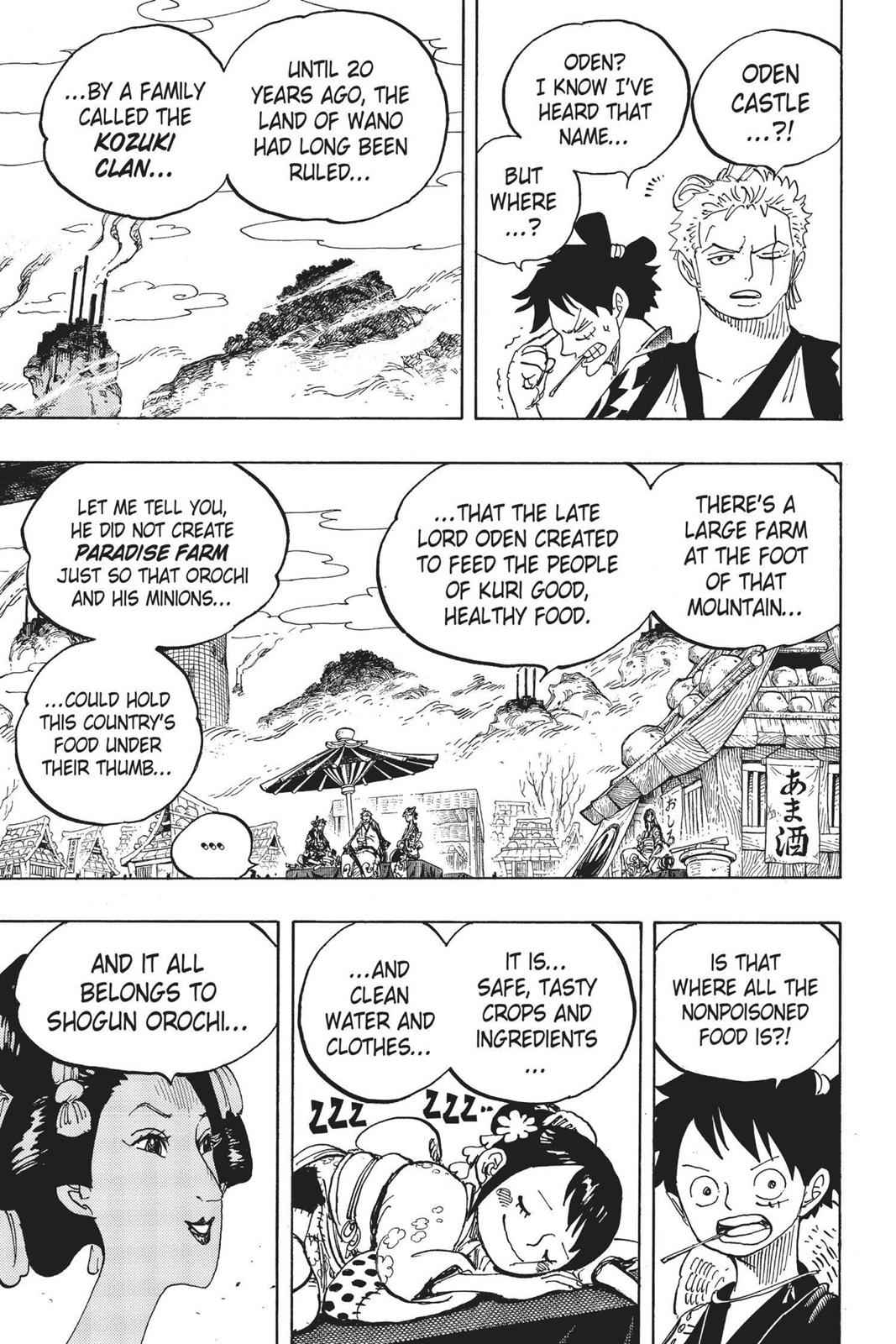 One Piece Chapter 914 Page 9