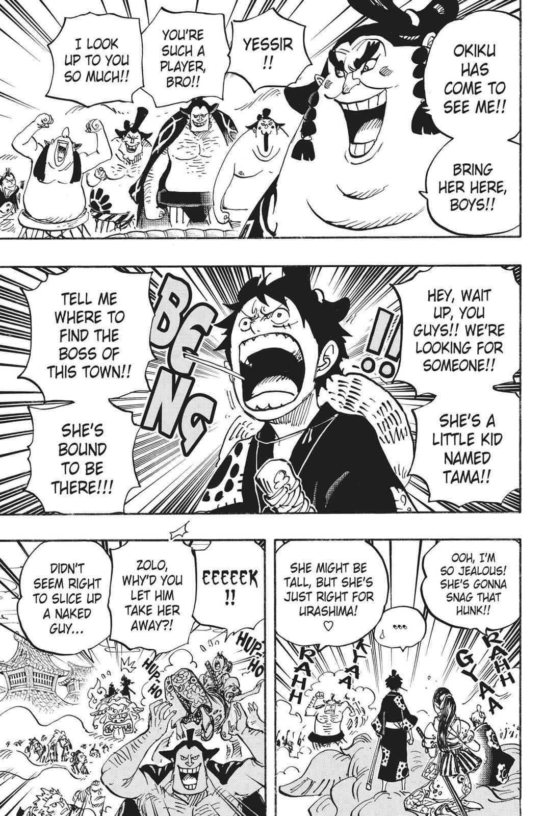 One Piece Chapter 915 Page 14