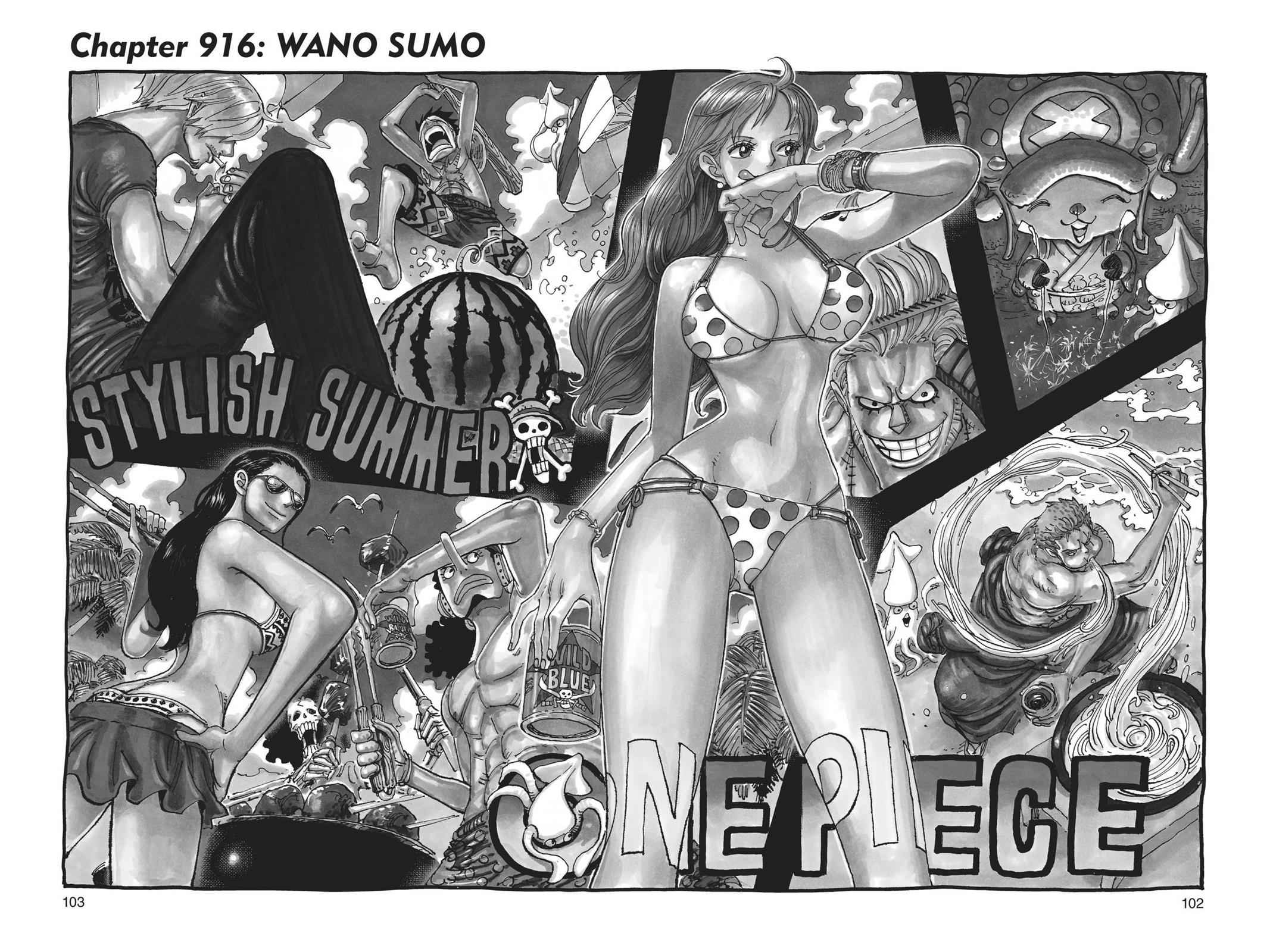One Piece Chapter 916 Page 1