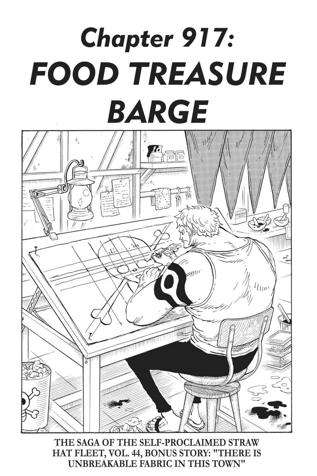 One Piece Chapter 917 Page 1