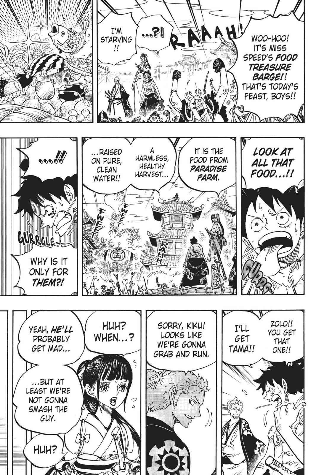 One Piece Chapter 917 Page 11