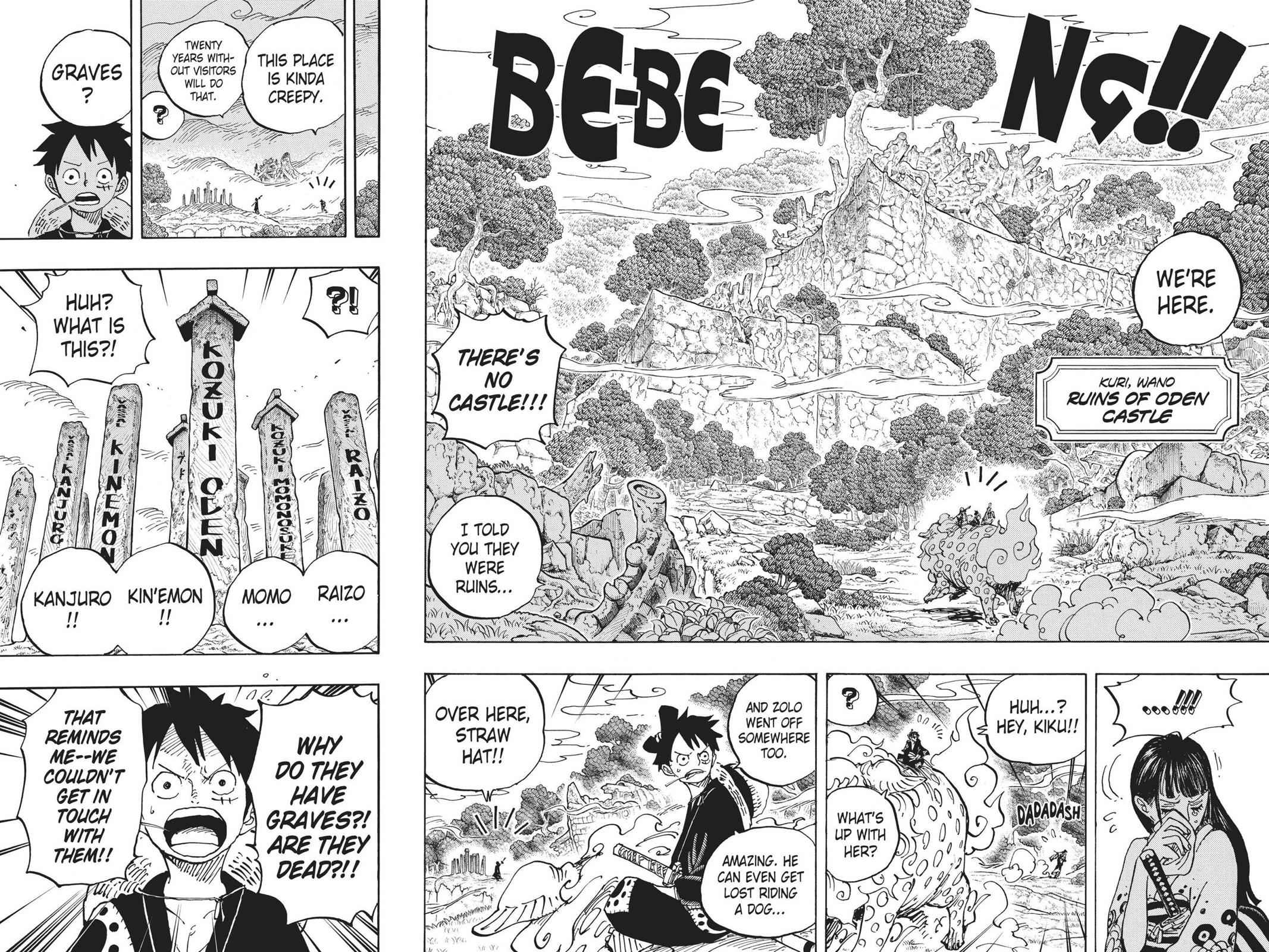 One Piece Chapter 919 Page 10