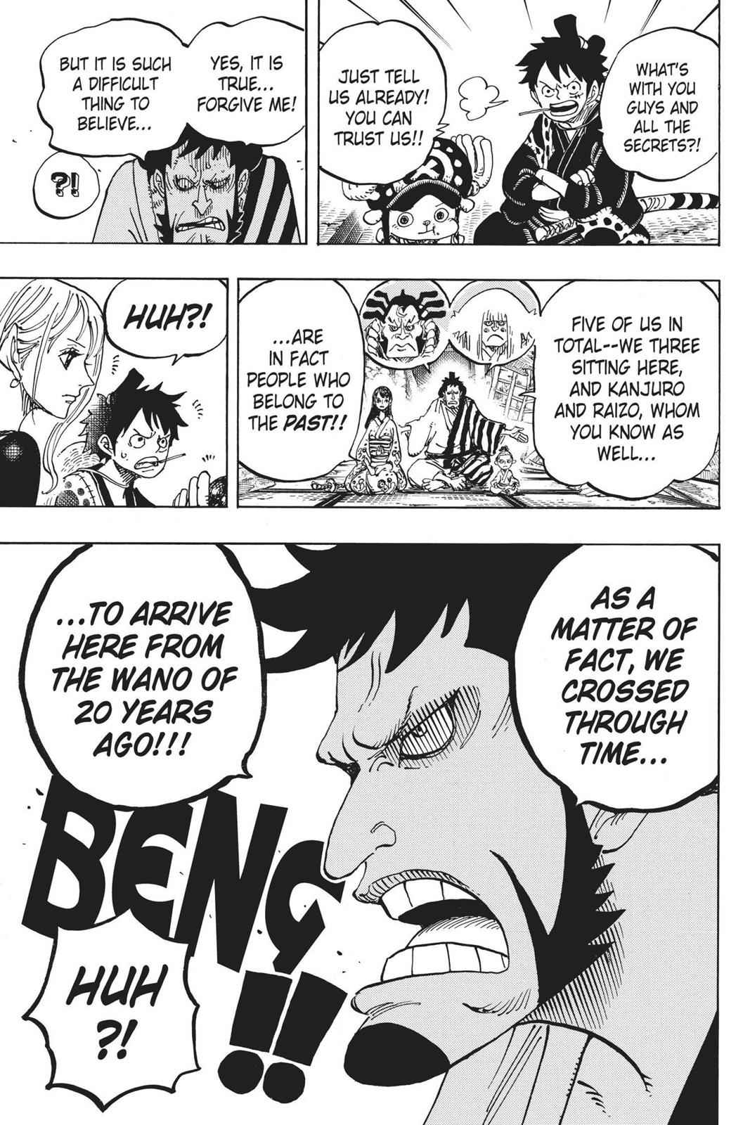 One Piece Chapter 919 Page 16