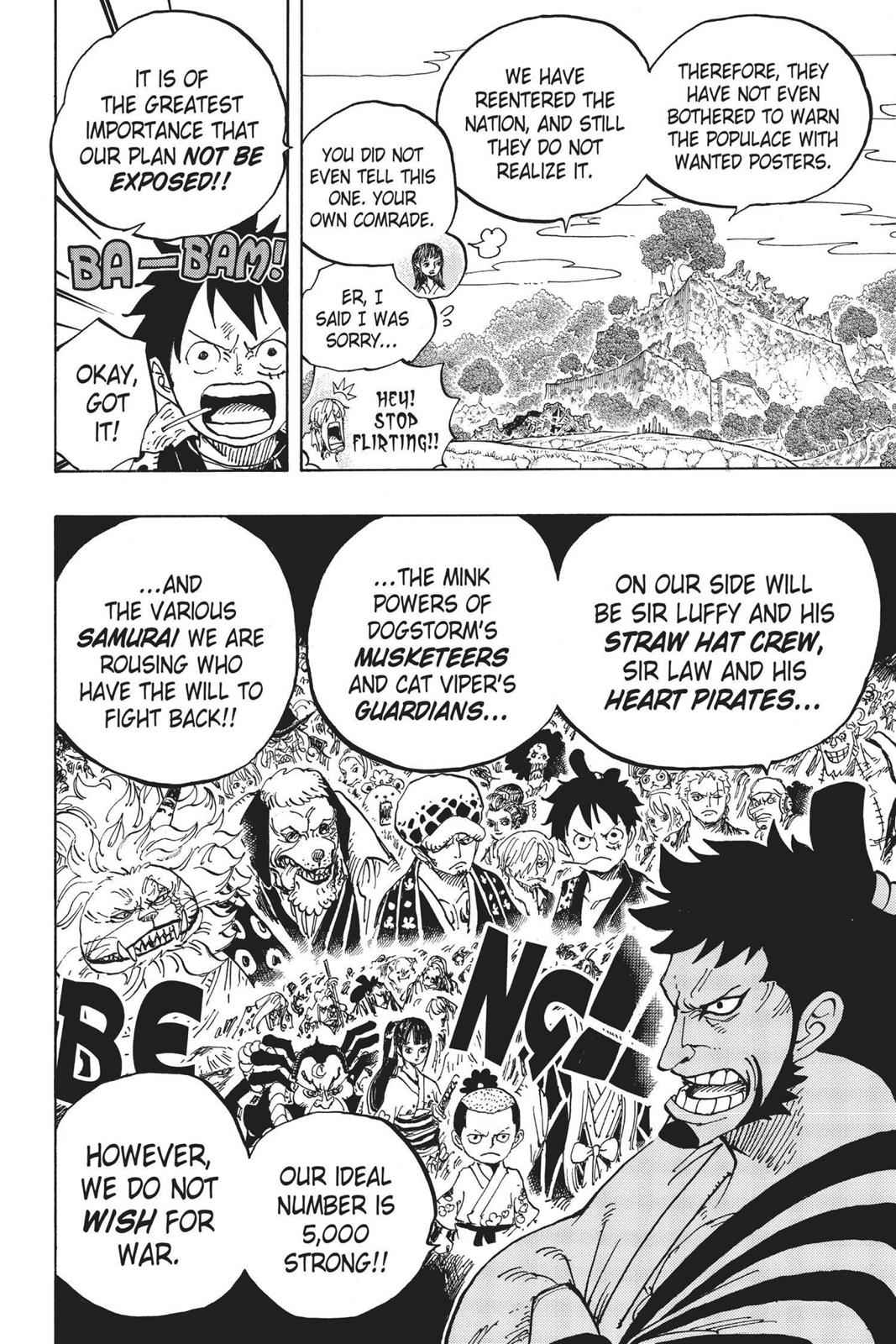 One Piece Chapter 920 Page 15