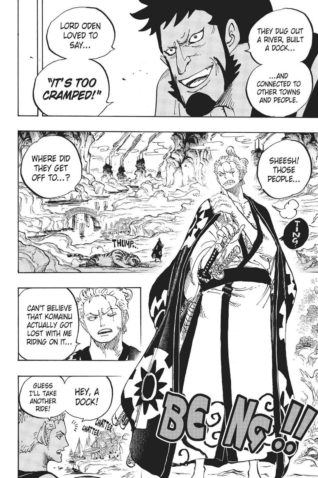 One Piece Chapter 920 Page 4