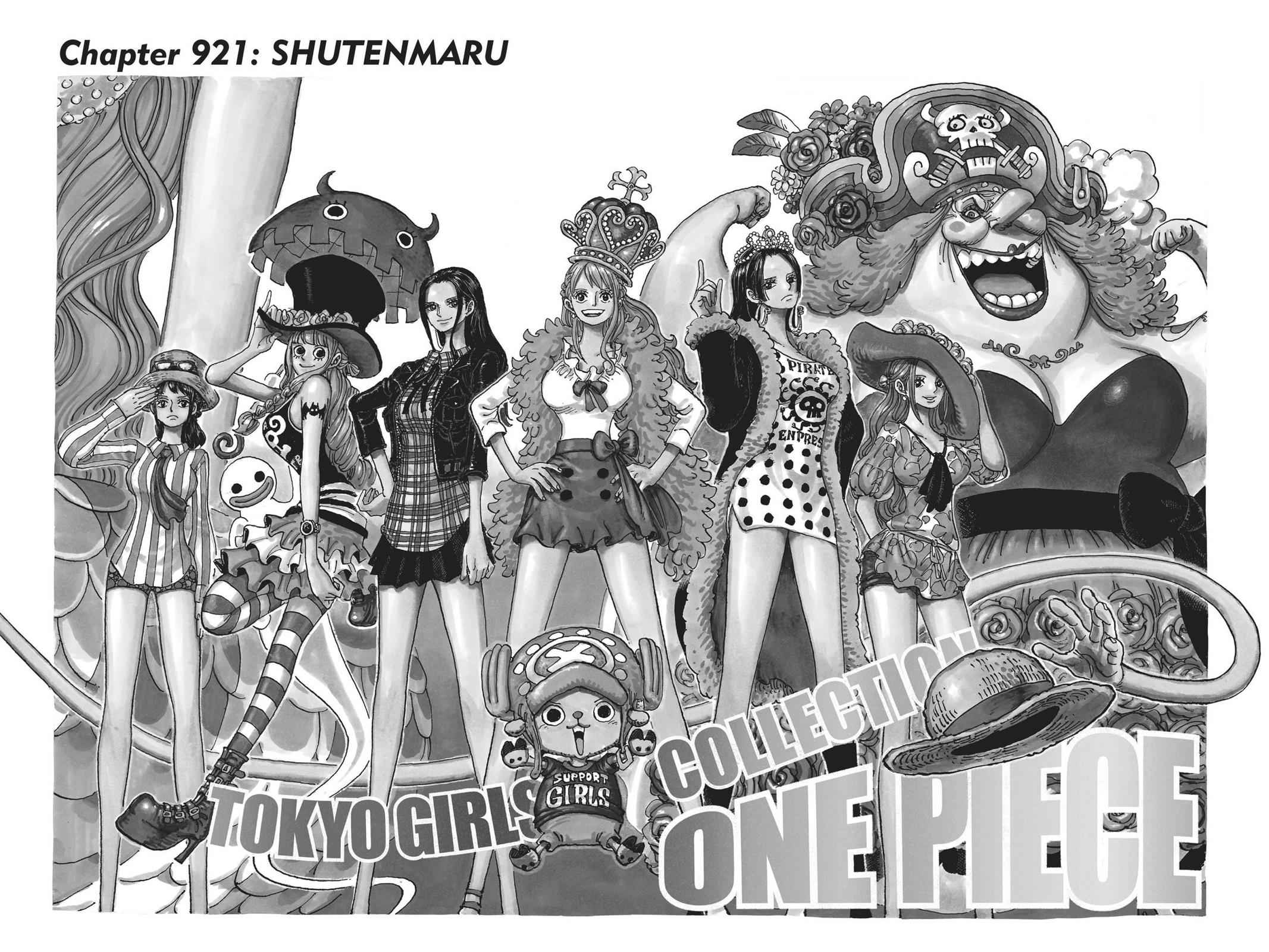 One Piece Chapter 921 Page 1