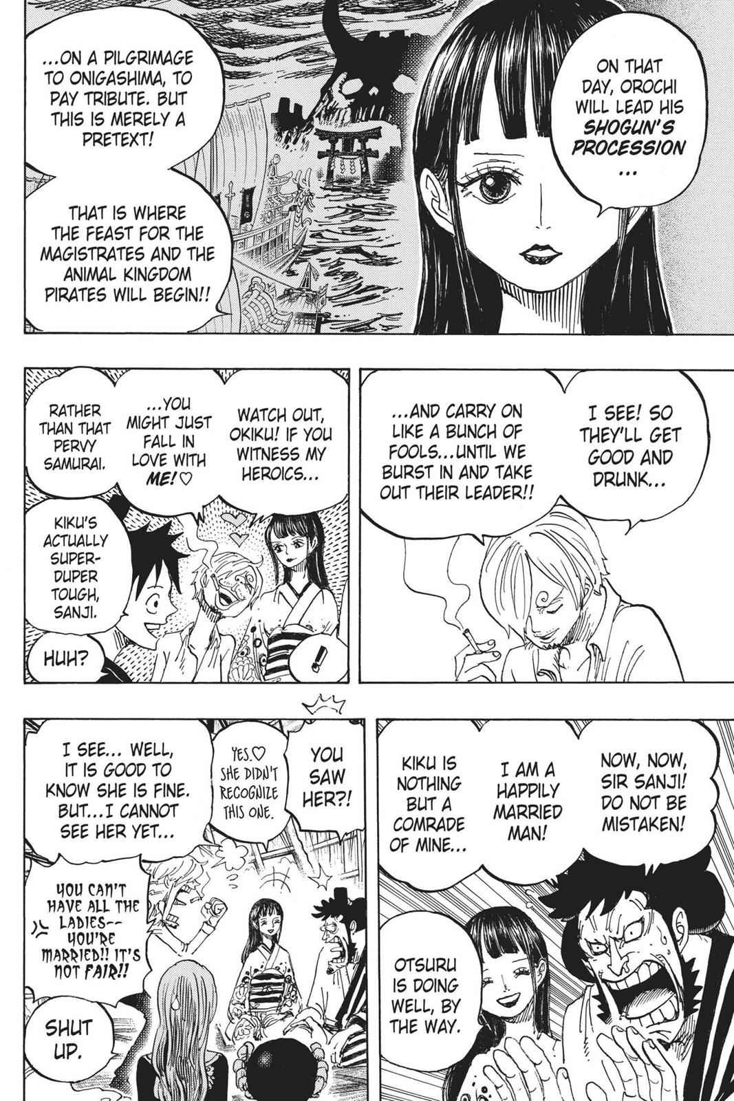 One Piece Chapter 921 Page 4
