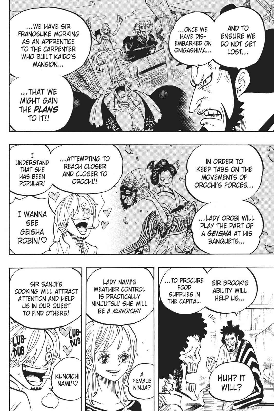 One Piece Chapter 921 Page 6