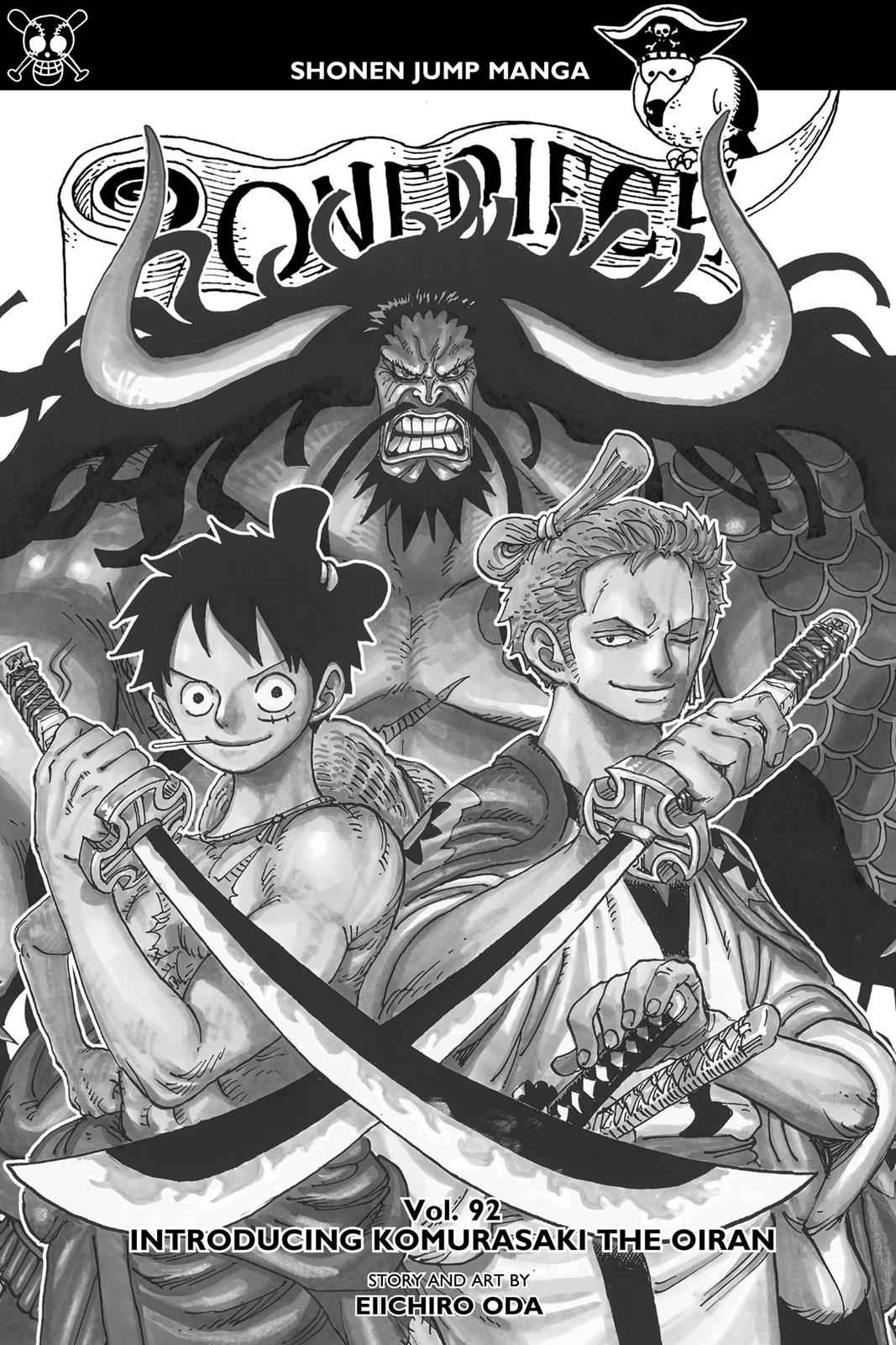 One Piece Chapter 922 Page 2