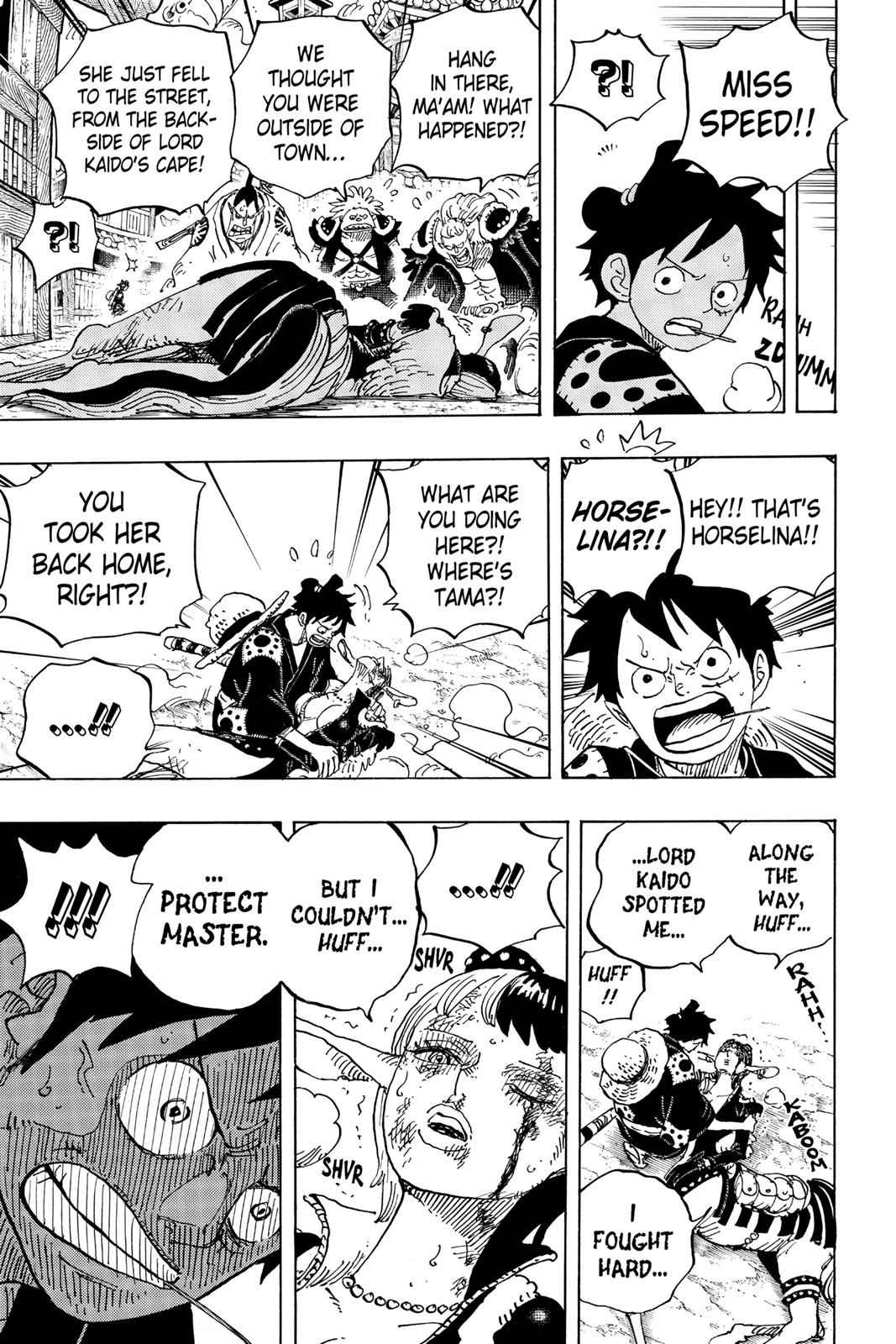 One Piece Chapter 923 Page 4