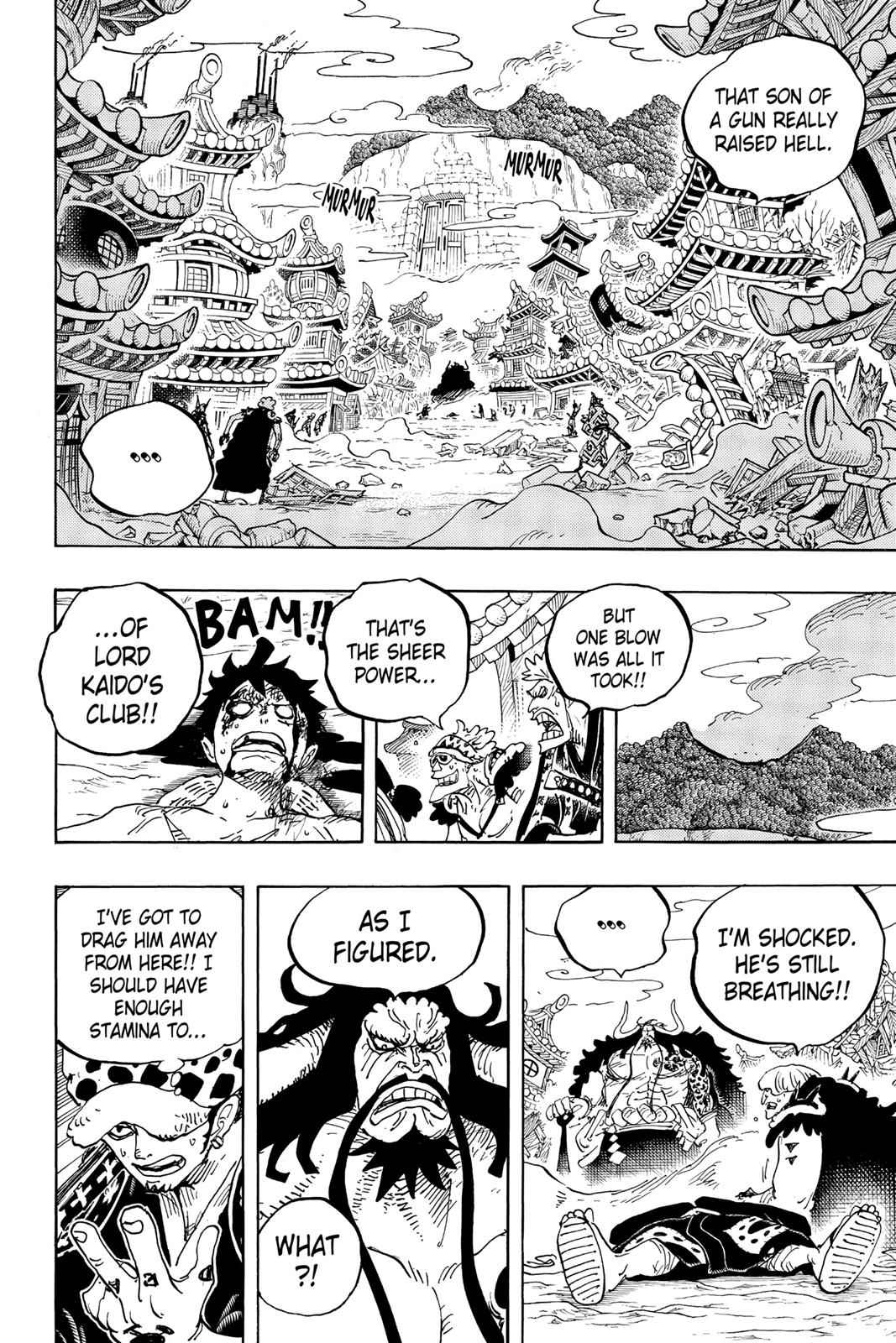 One Piece Chapter 924 Page 2