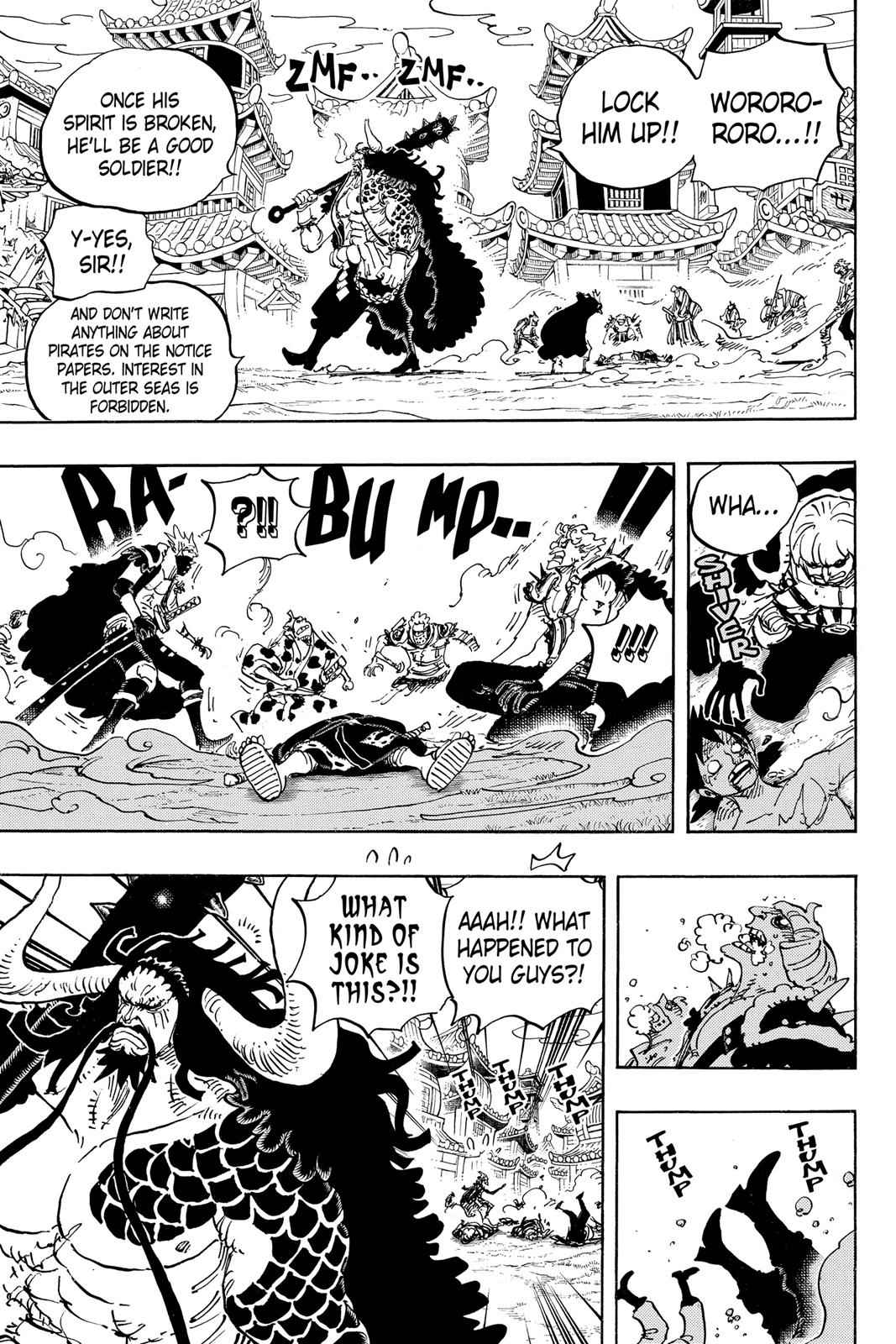 One Piece Chapter 924 Page 5