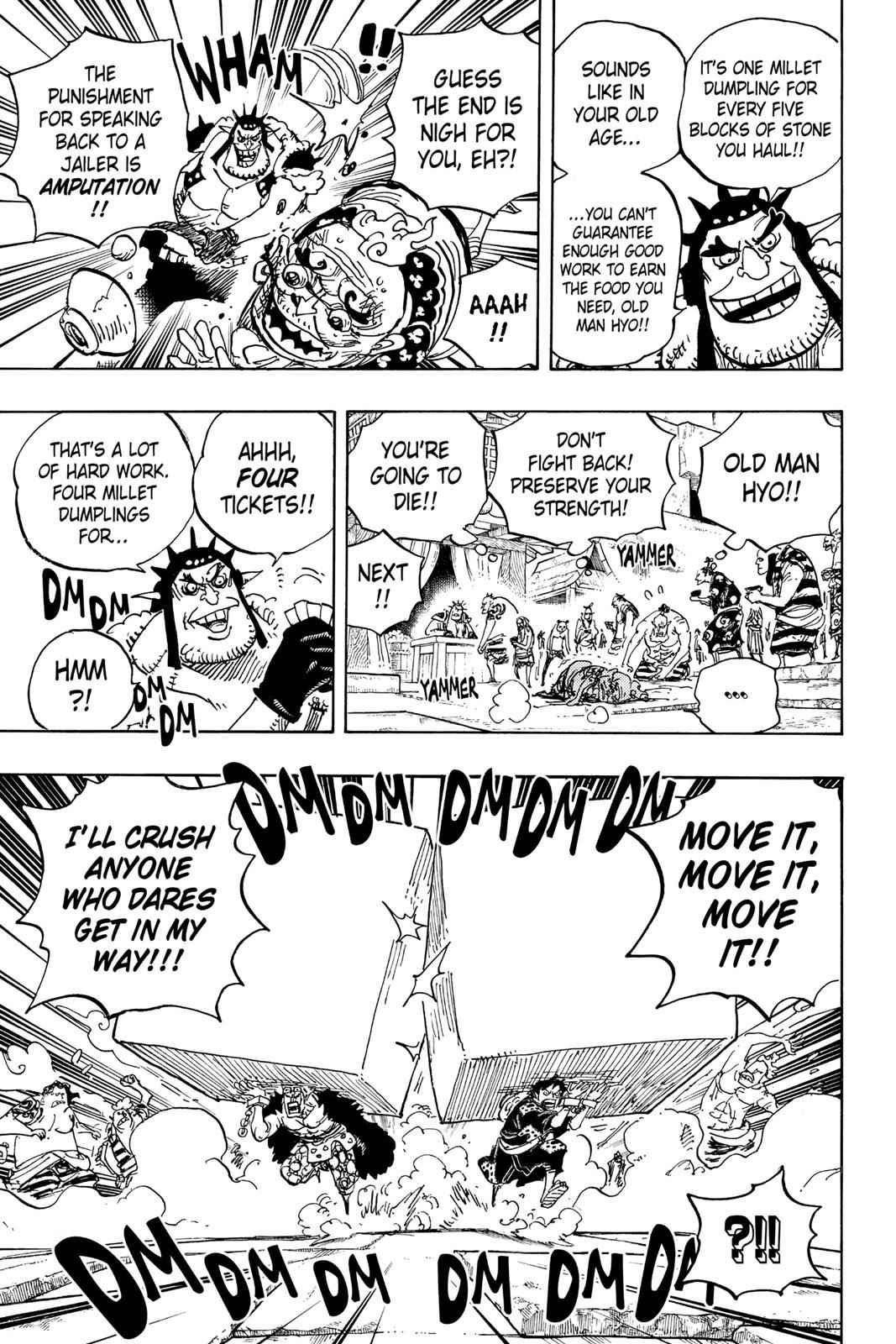 One Piece Chapter 926 Page 11