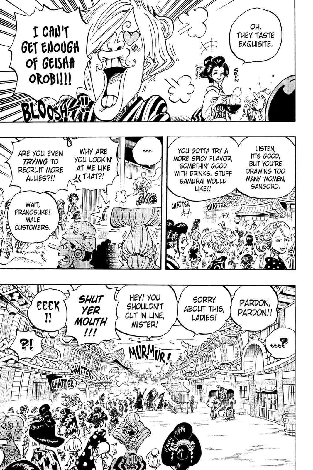 One Piece Chapter 927 Page 3