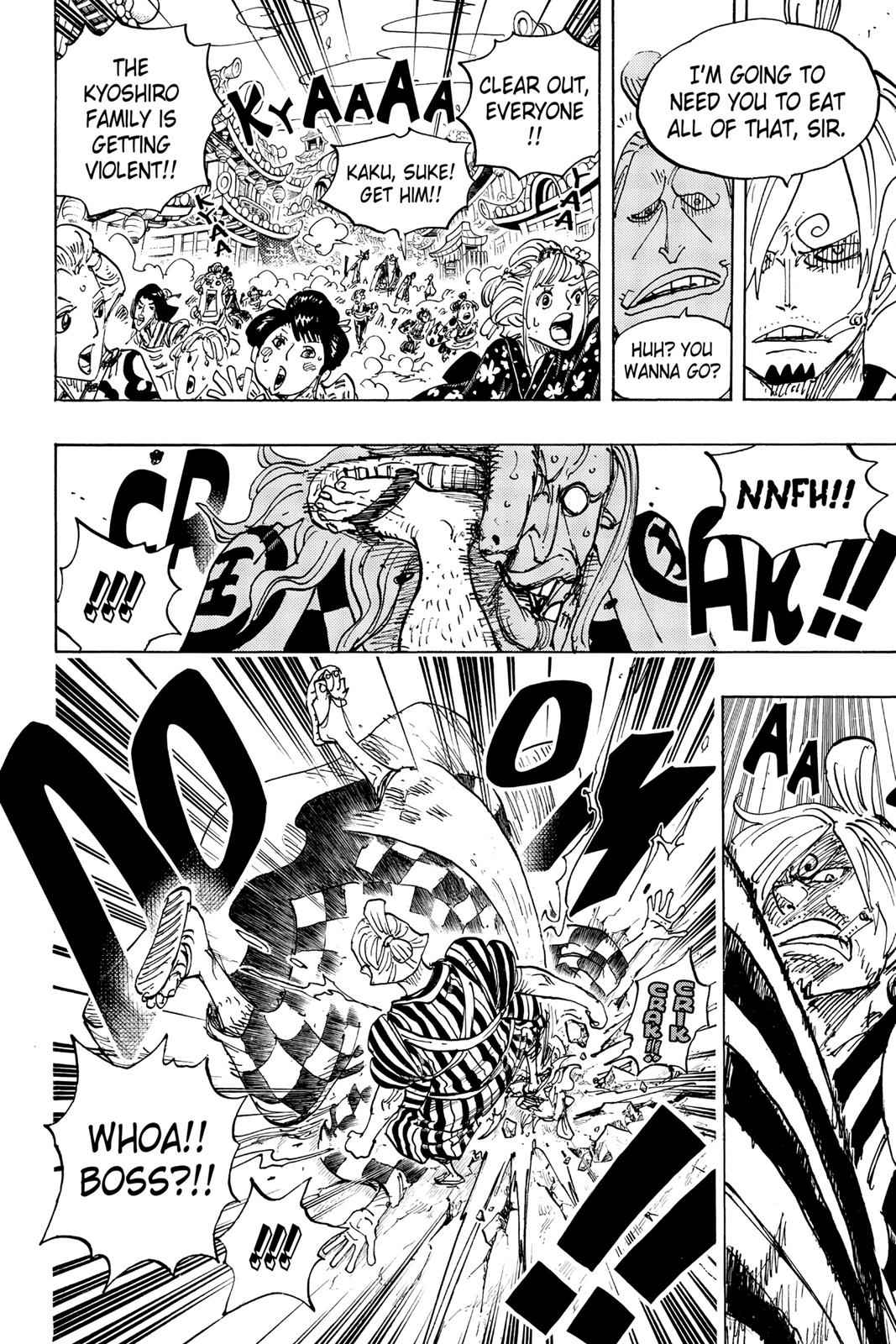 One Piece Chapter 927 Page 6