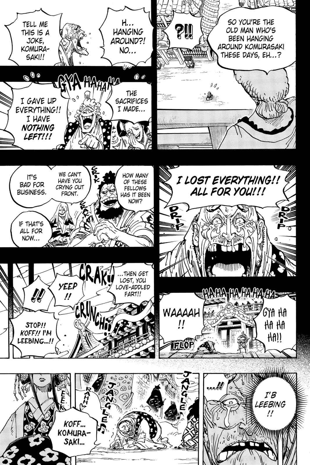 One Piece Chapter 928 Page 13