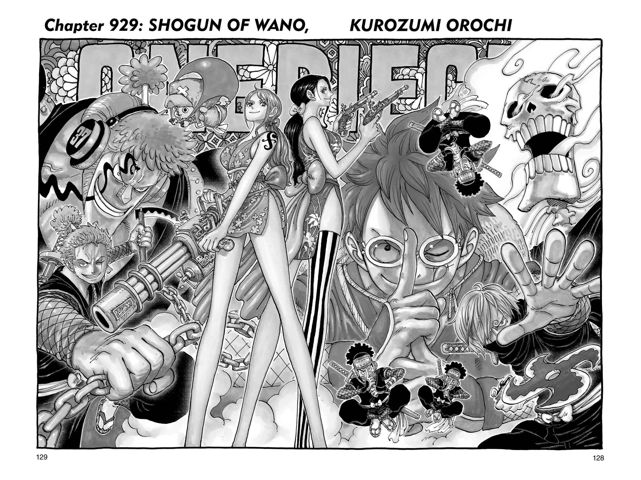 One Piece Chapter 929 Page 1