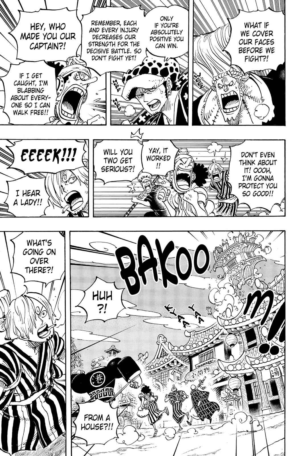 One Piece Chapter 930 Page 11
