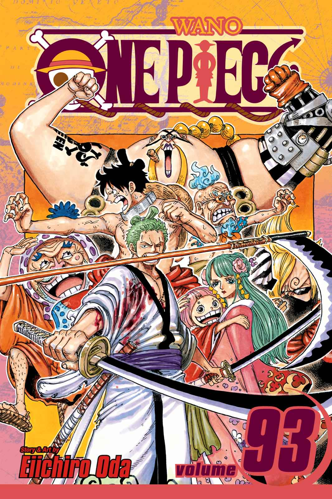 One Piece Chapter 932 Page 1
