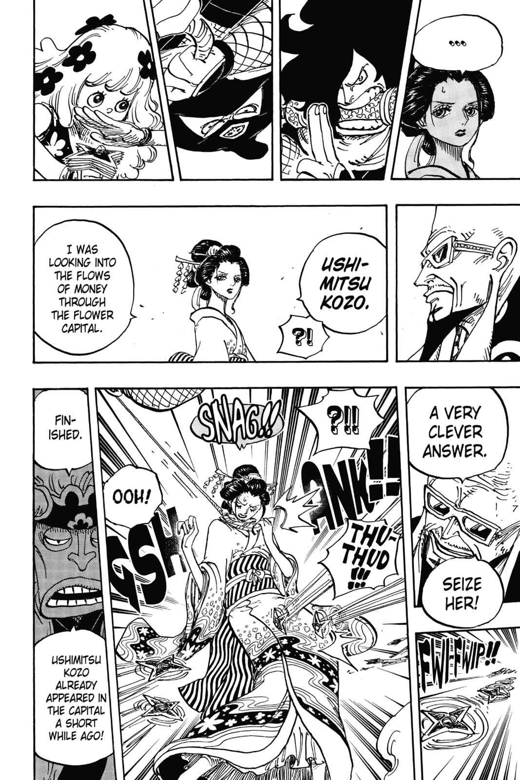 One Piece Chapter 932 Page 10