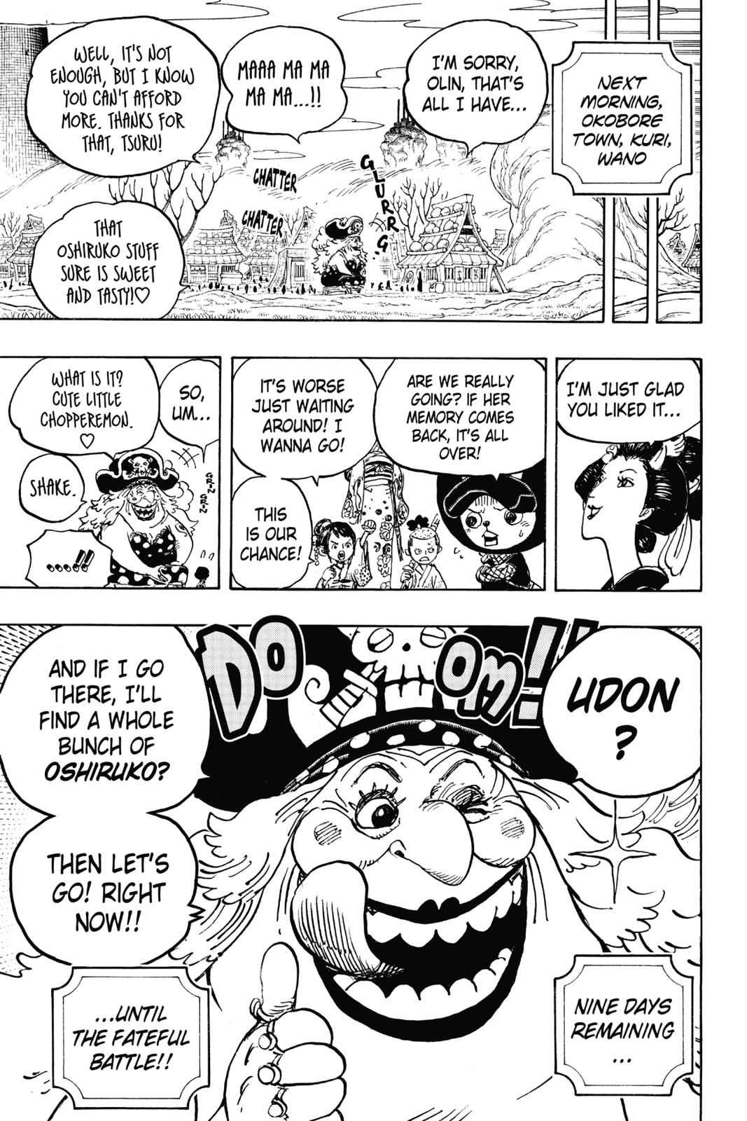One Piece Chapter 933 Page 17