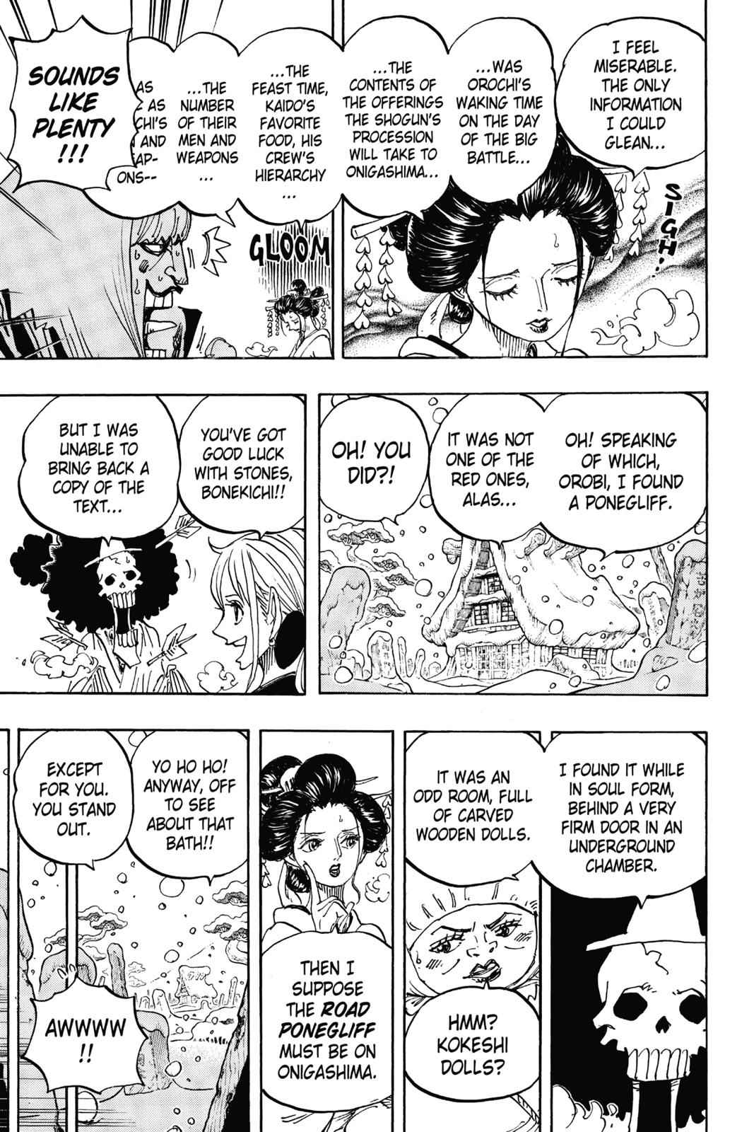 One Piece Chapter 934 Page 9