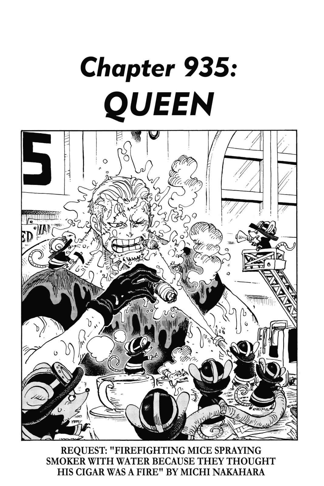 One Piece Chapter 935 Page 1