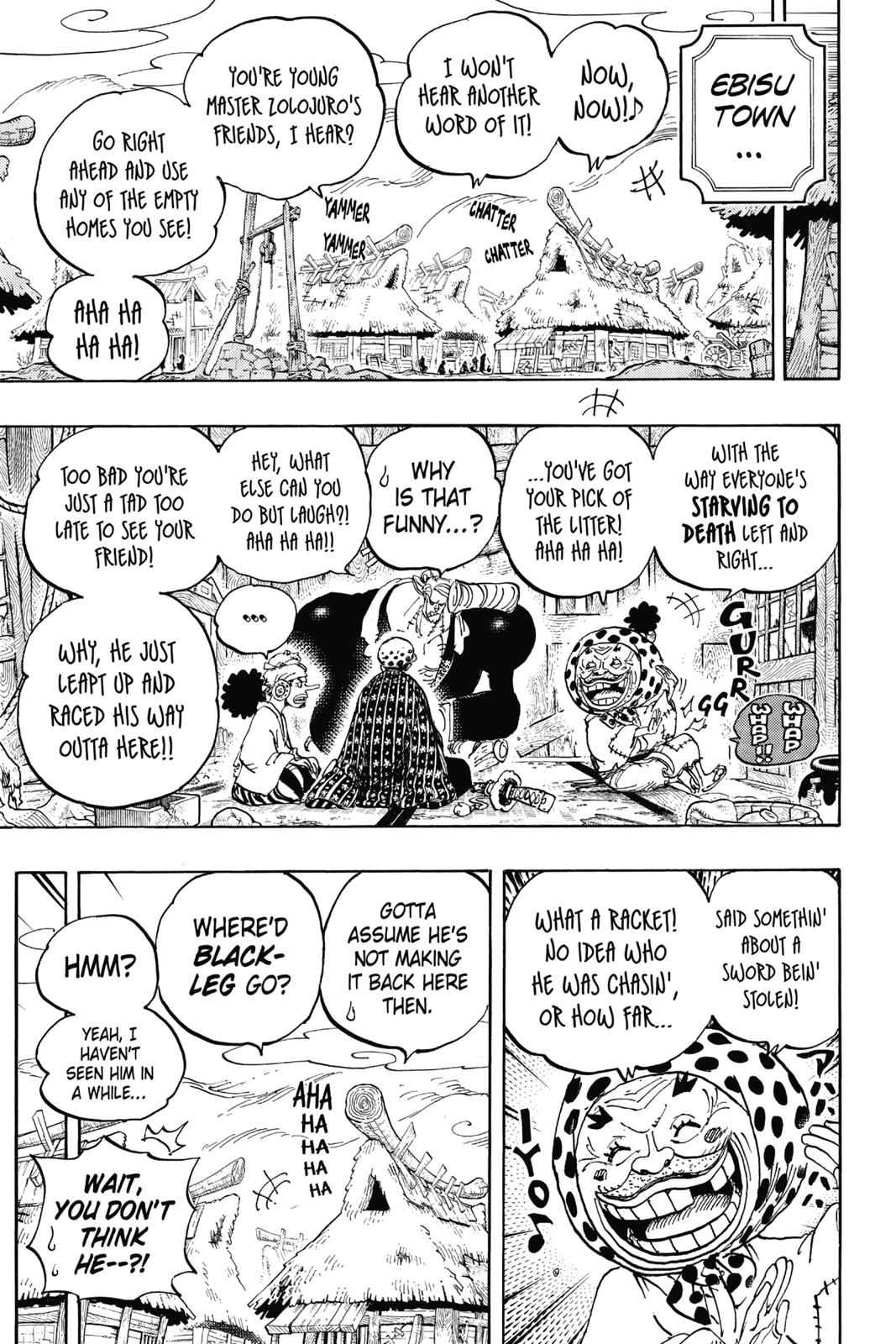 One Piece Chapter 935 Page 10