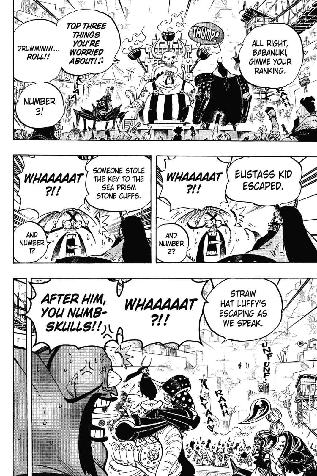 One Piece Chapter 935 Page 9
