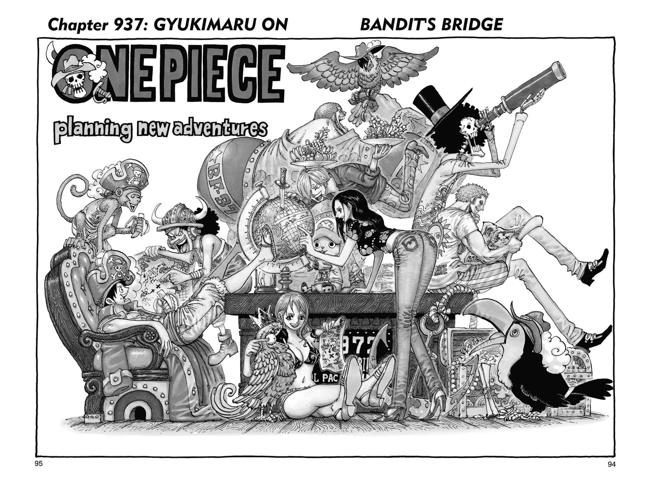 One Piece Chapter 937 Page 1