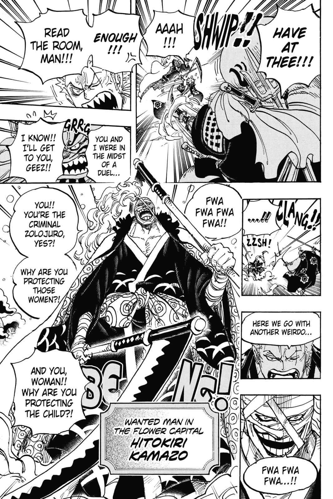 One Piece Chapter 937 Page 11