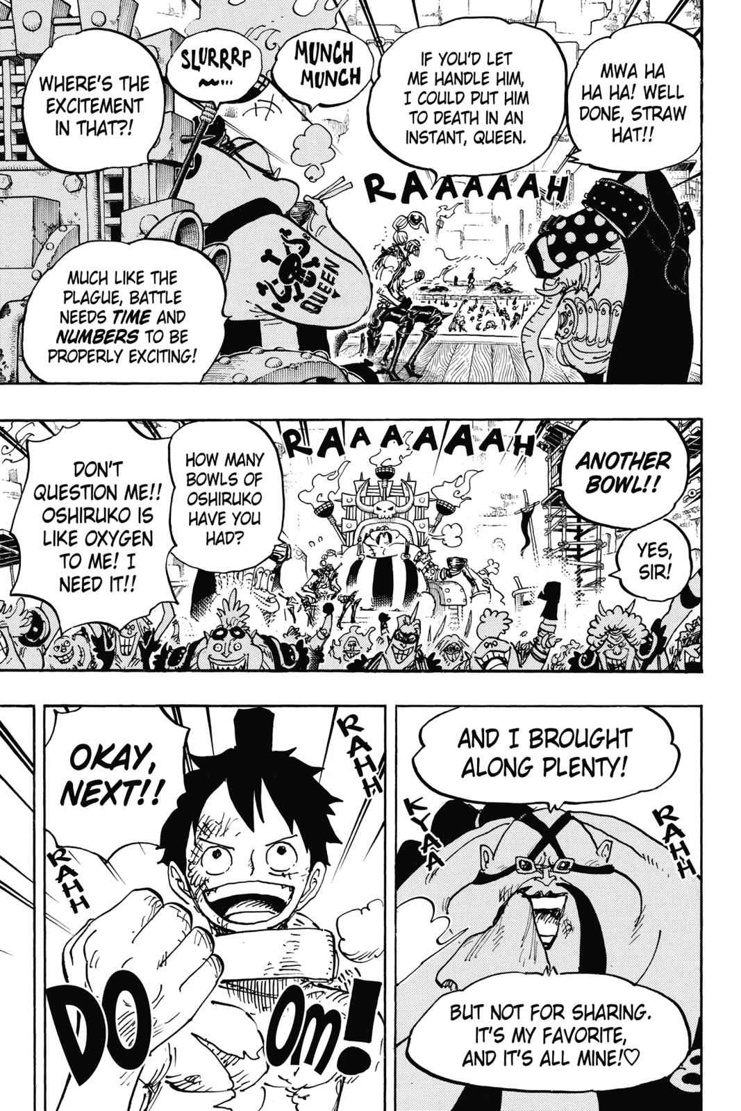 One Piece Chapter 937 Page 5
