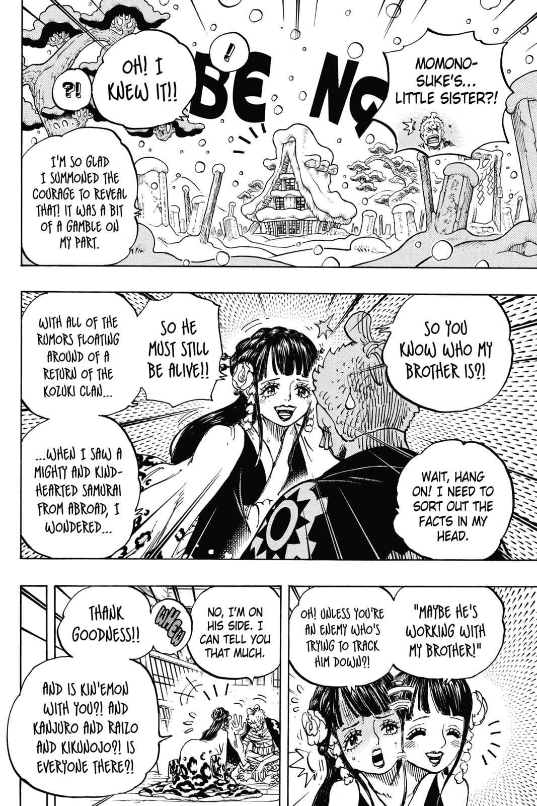 One Piece Chapter 939 Page 2