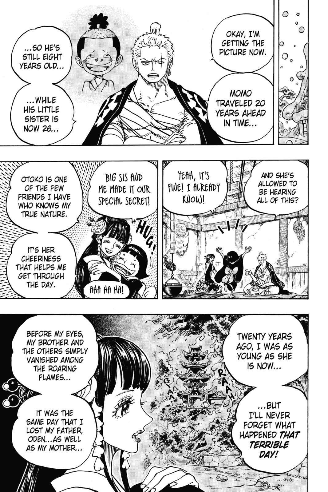 One Piece Chapter 939 Page 3