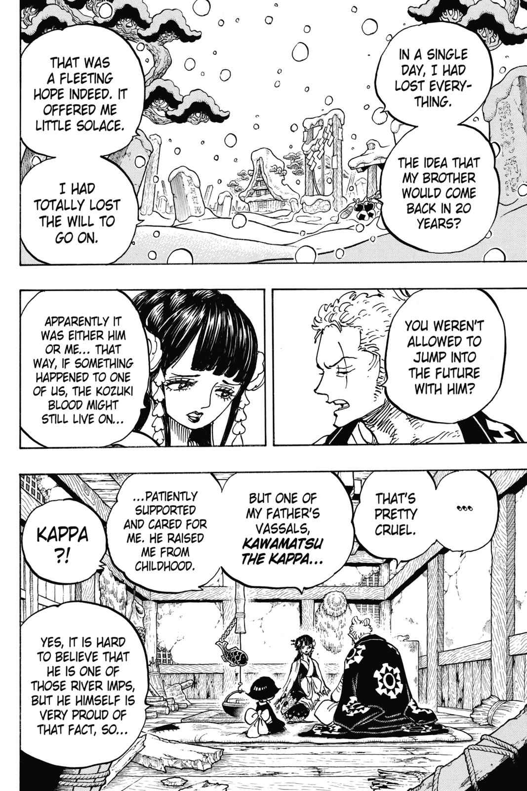 One Piece Chapter 939 Page 4