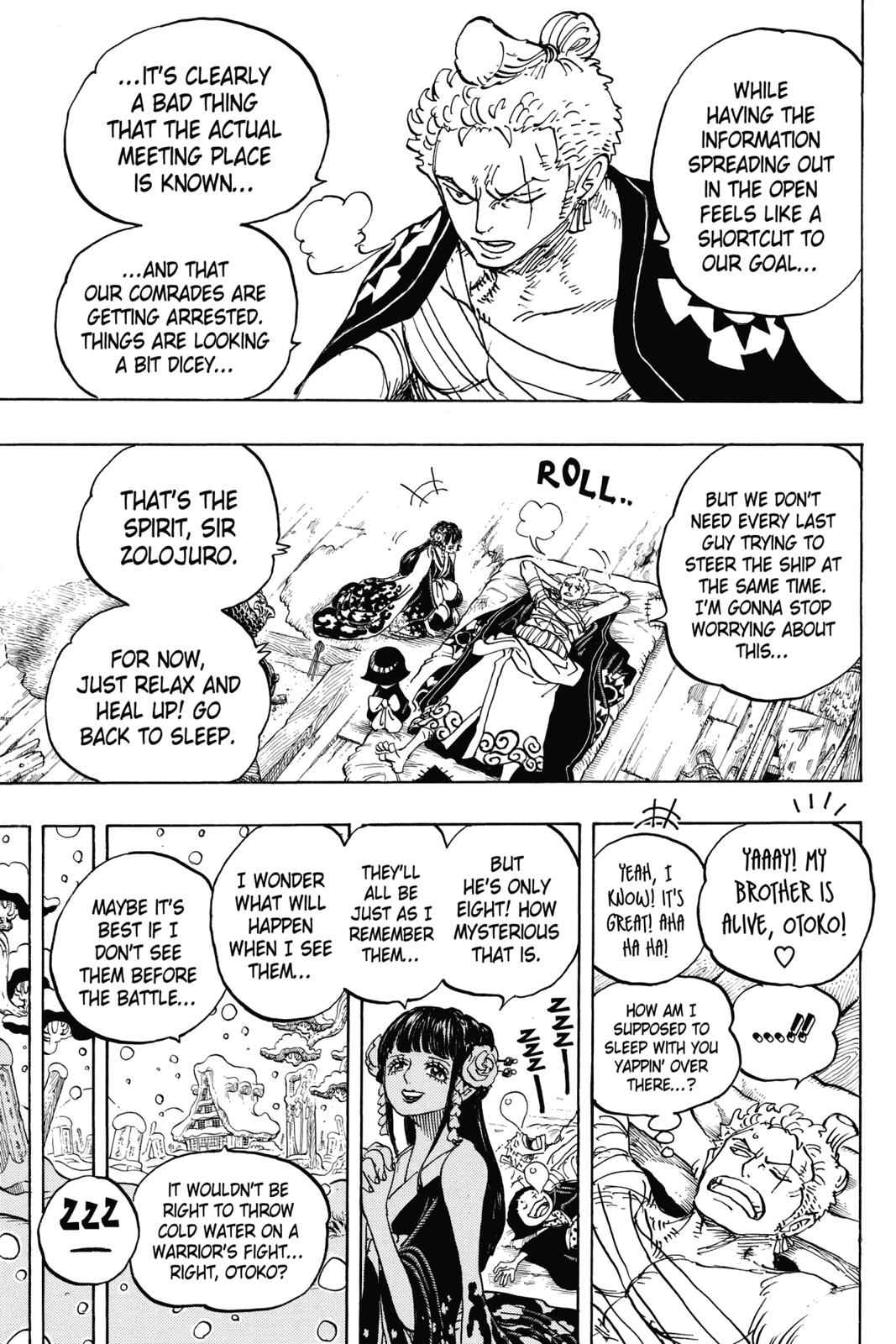 One Piece Chapter 939 Page 7