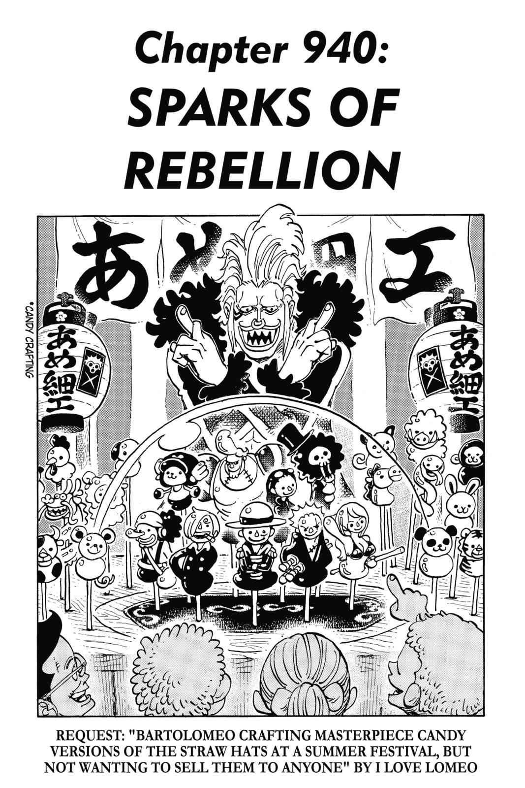 One Piece Chapter 940 Page 1