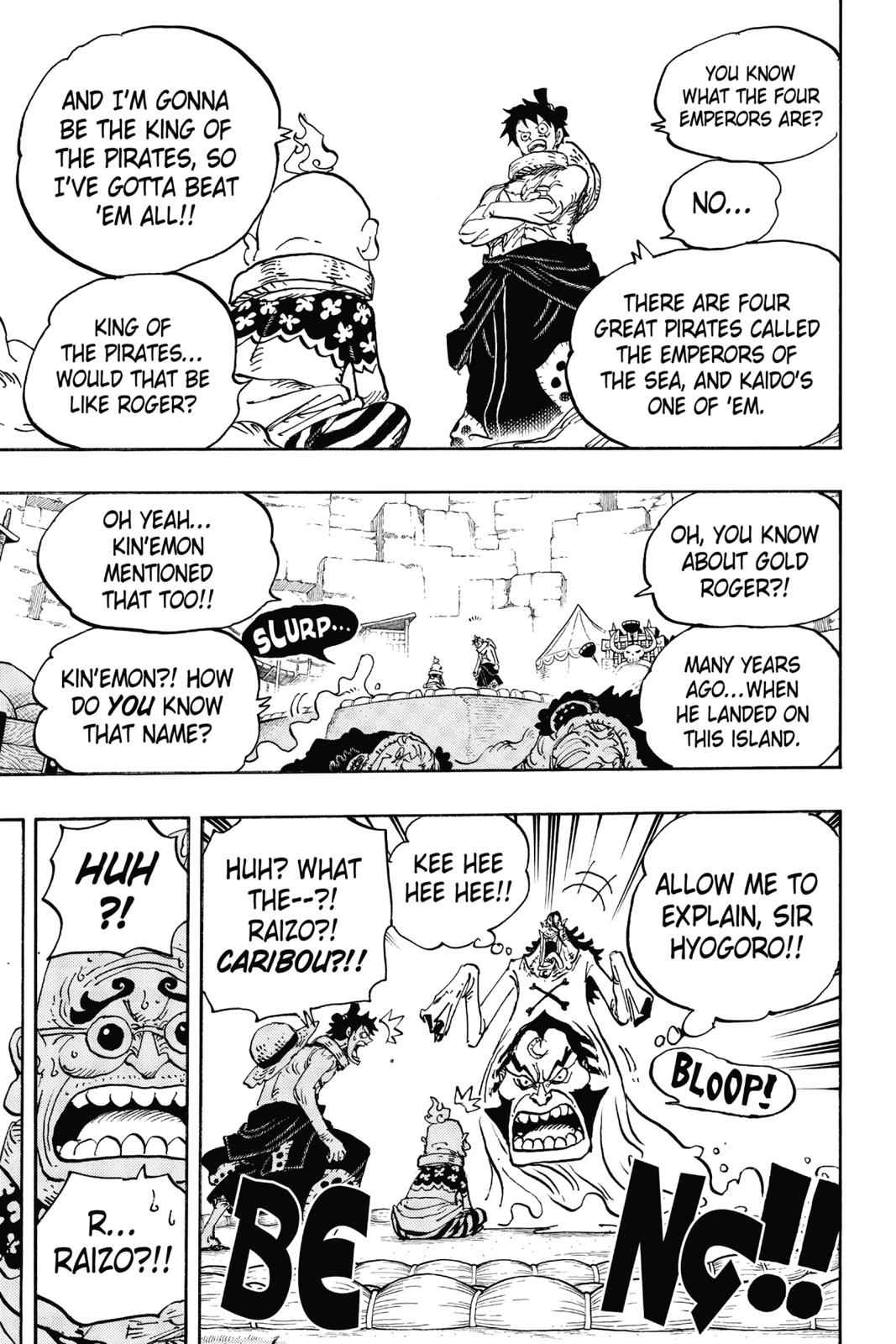 One Piece Chapter 940 Page 13