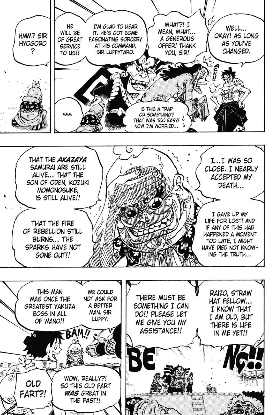 One Piece Chapter 940 Page 15